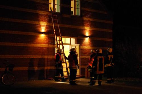 Einsatzübung Freiwillige Feuerwehr Ragow #6