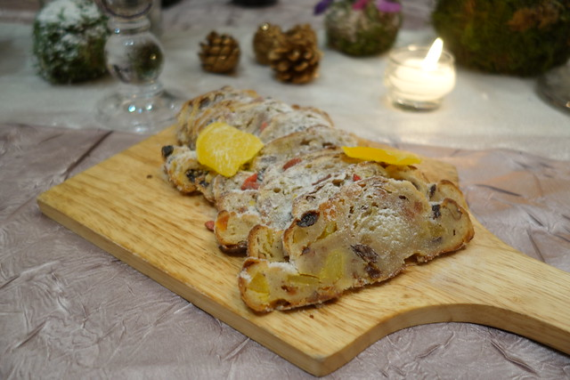 Homemade Christmas Stollen with Dried Tropical Fruit - Brasserie Les Saveurs, St Regis Singapore - Festive Takeaway Goodies 2014