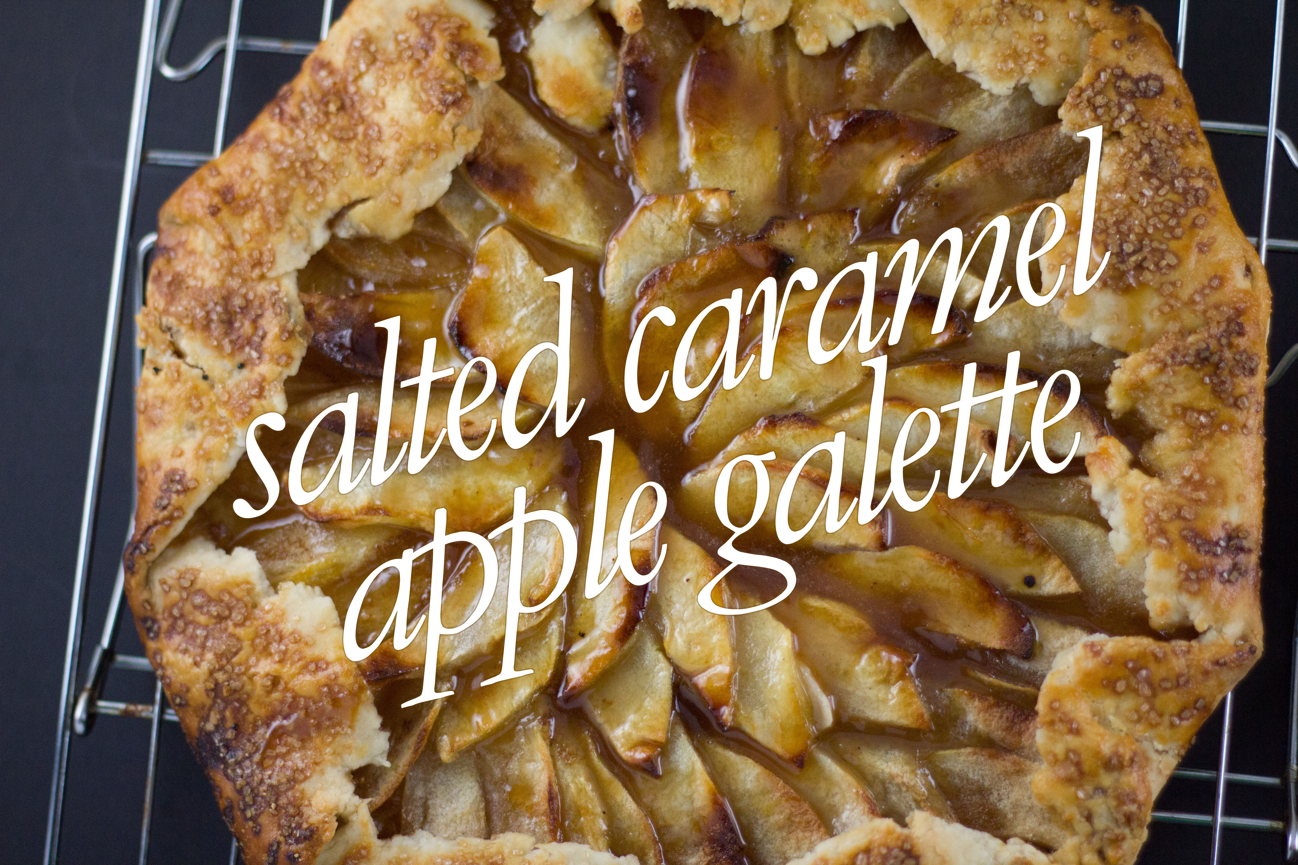 salted caramel apple galette (2 of 5) text
