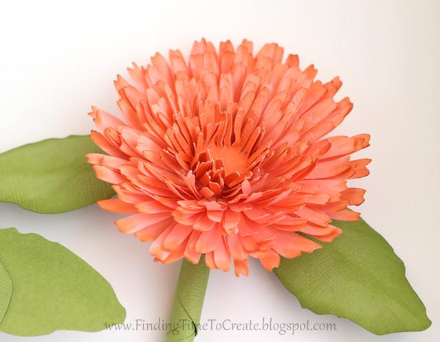 Calendula ink petal tips | Finding Time To Create