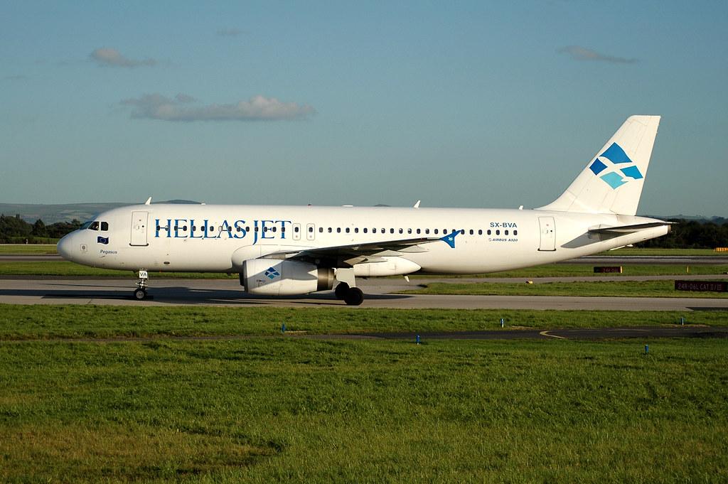 Hellas Jet A320 SX-BVA