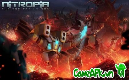 Nitropia: War Commanders v1.0 hack full Nitrus cho Android