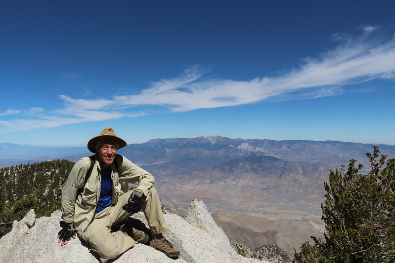 Me, with San Gorgonio in the distance