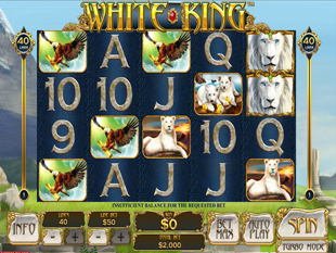White King slot game online review