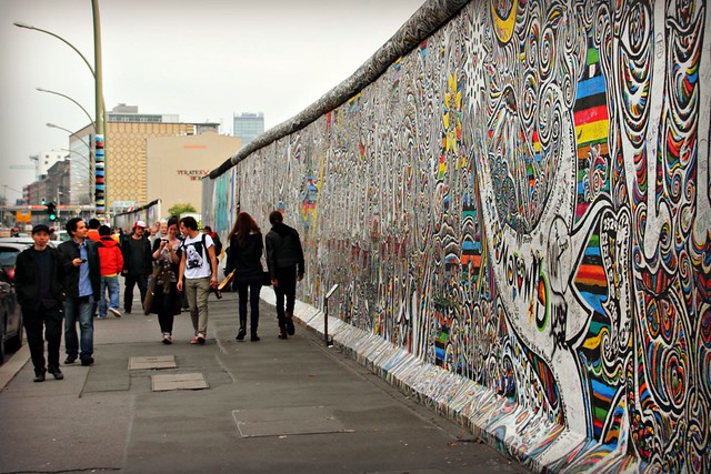 East Side Gallery - Berliinin muuri