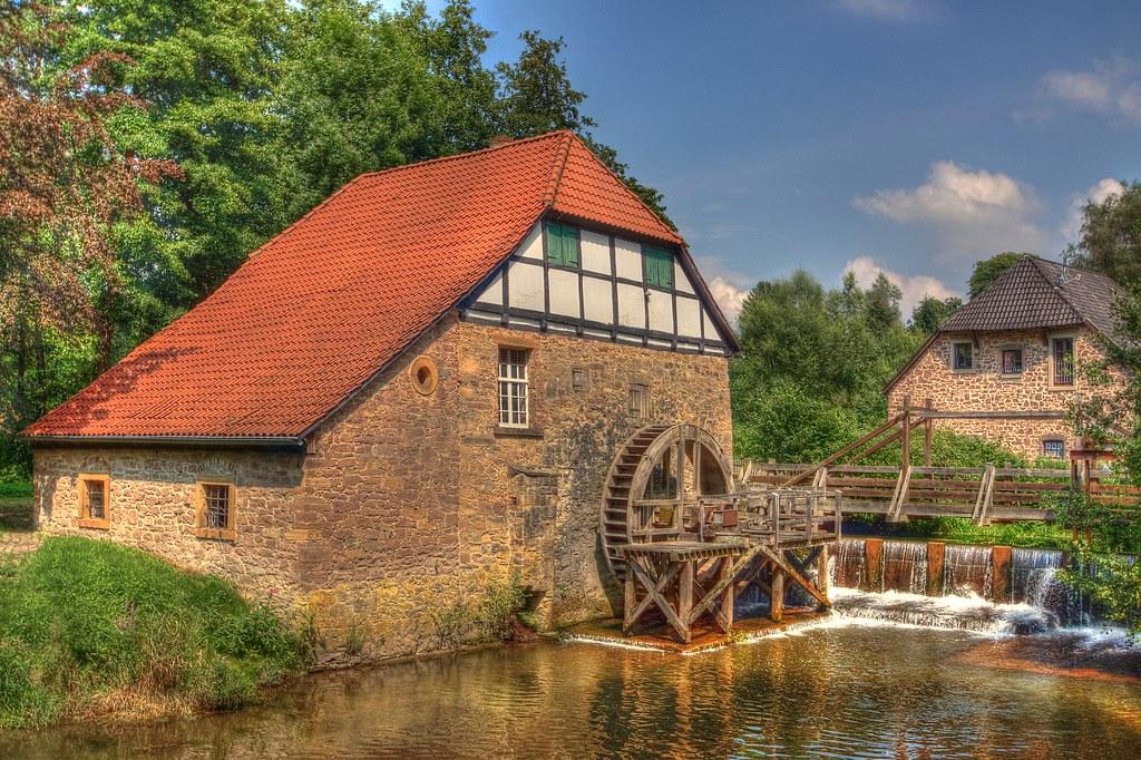 Watermill Lemgo-Brake-Germany