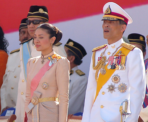 Thai crown prince and princess