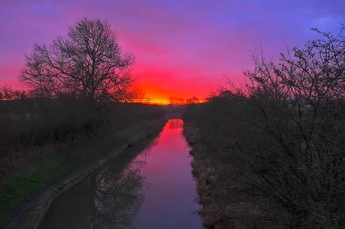 england sunrise unitedkingdom saddington