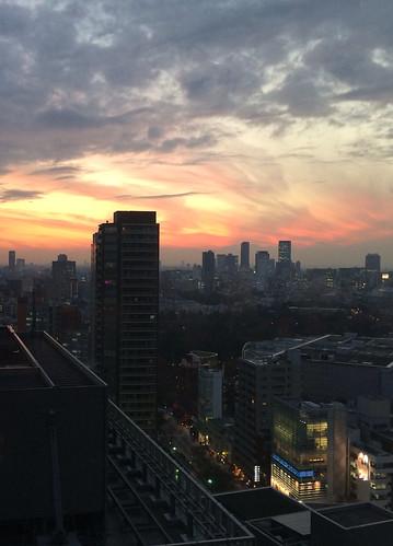綺麗な夕焼け(トリミング)