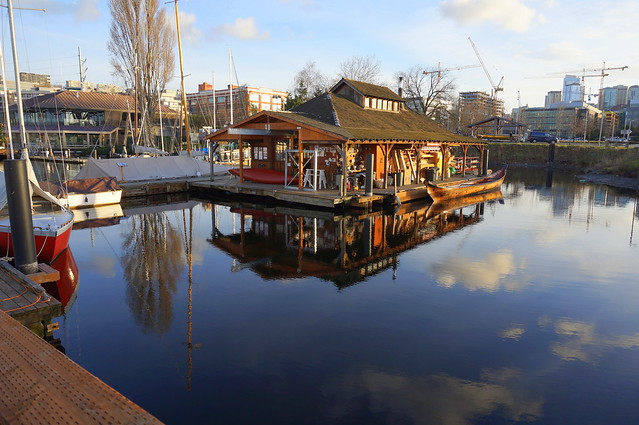 the Wooden Boat Center