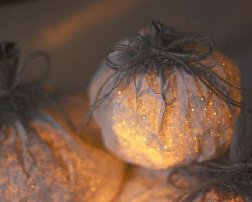 Paper Bag Pumpkin Luminaries DIY - Smile Mercantile