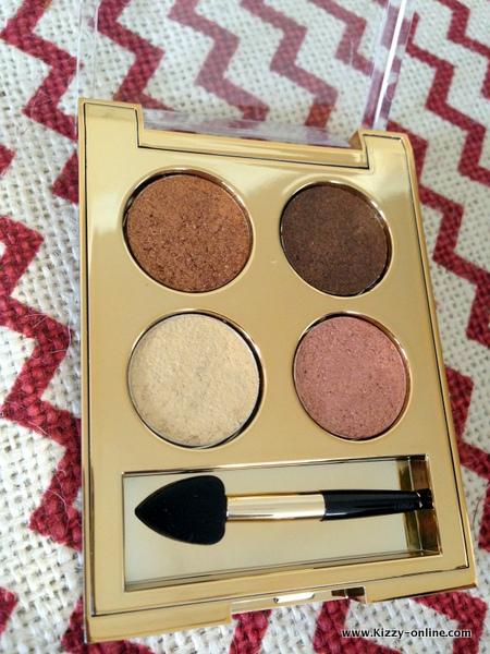 Milani Fierce Foil Eyeshine in 03 Florence swatch swatches CVS 2015 eyeshadows palettes