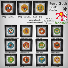 Frogstar - Retro Geek Prints Gacha Poster