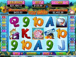 Ocean Oddities Slot Machine