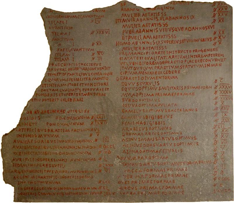 Edict_on_Maximum_Prices_Diocletian