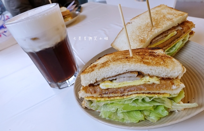 9 板橋萬粟華碳燒三明治