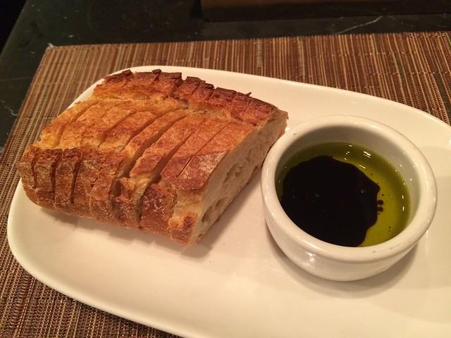 Bread with olive oil - Barbacco