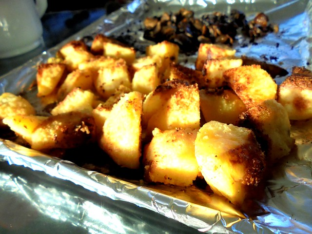 STP's roast potatoes
