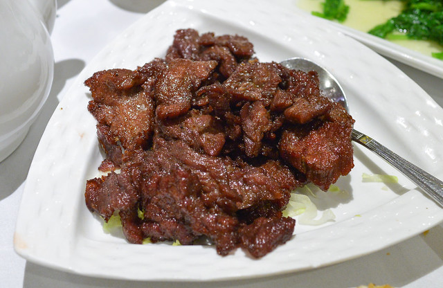 R&G Special Beef stir-fried top choice sliced beef marinated with chef's special sauce