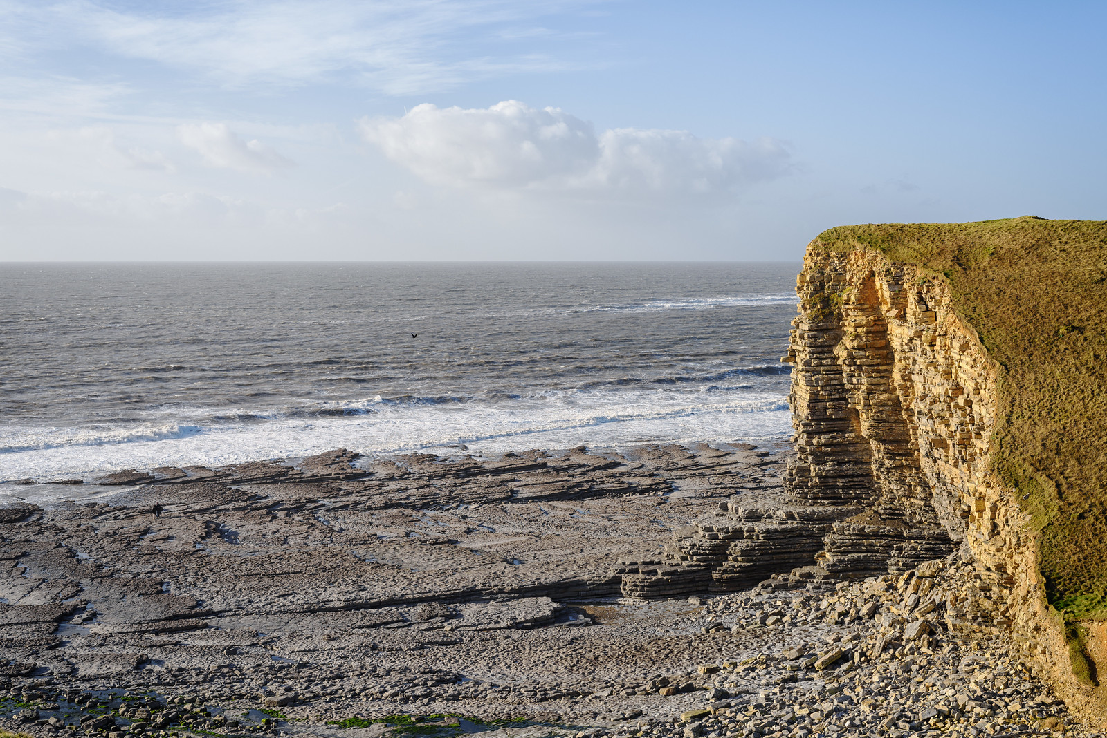 Nash Point Cliffs