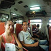 En el tren camino de Ayutthaya