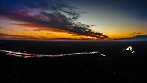 sunset aerial wc rva jamesriver drone dji baskervill phantom2vision phantomvision2 djicreator