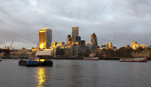 London Skyline from the South Bank