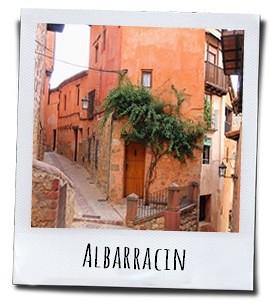 Het authentieke dorp Albarracín
