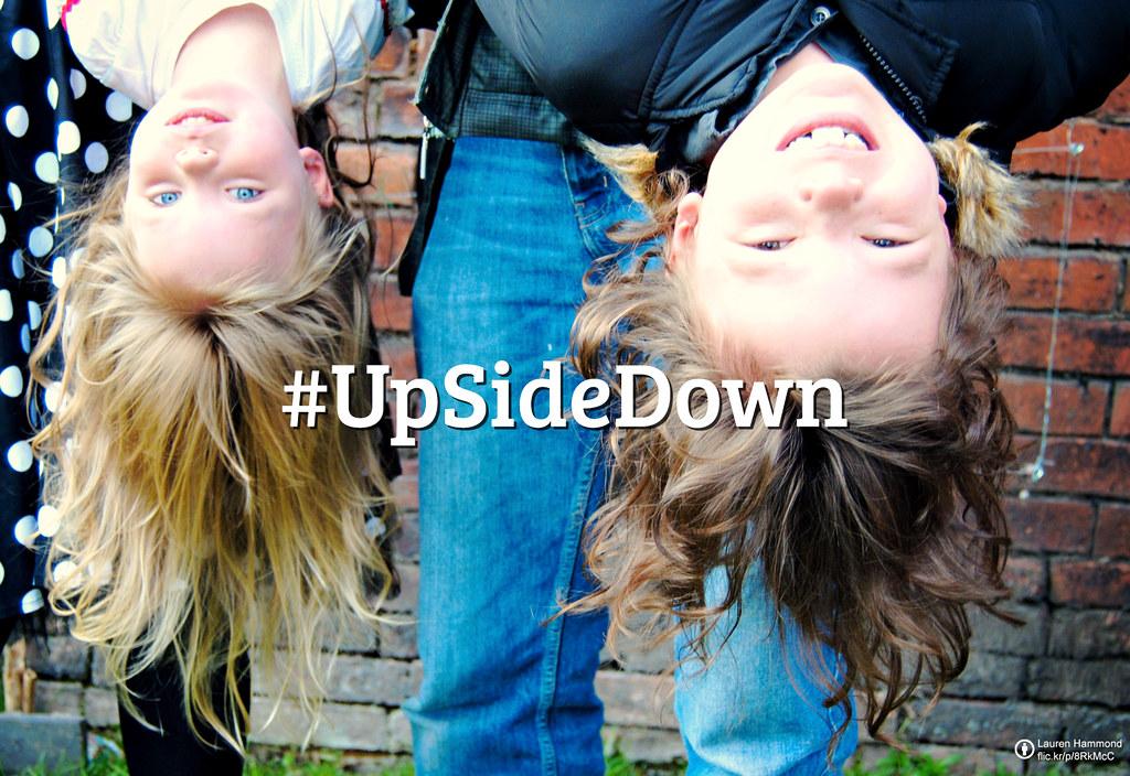 Flickr Friday:「顛倒」#UpSideDown