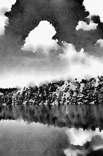 Lake Trahlyta (watercolors)