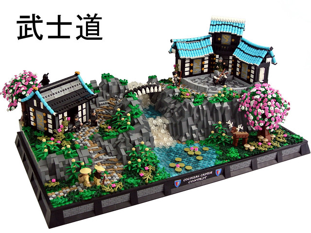 Lego asian creations 4 a gallery on flickr for Modele maison lego