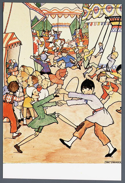 015- Tarjeta postal- imagen de Pinocho- Rie Cramer- Memory of the Netherlands