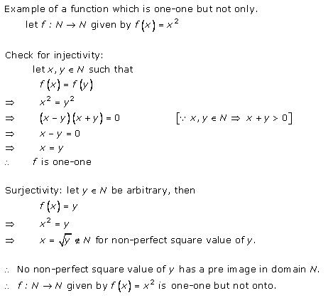 RD Sharma Class 12 Solutions Chapter 2 Functions Ex2.1 Q1-i