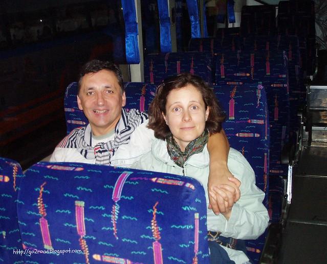 рейсовый автобус вТайланде