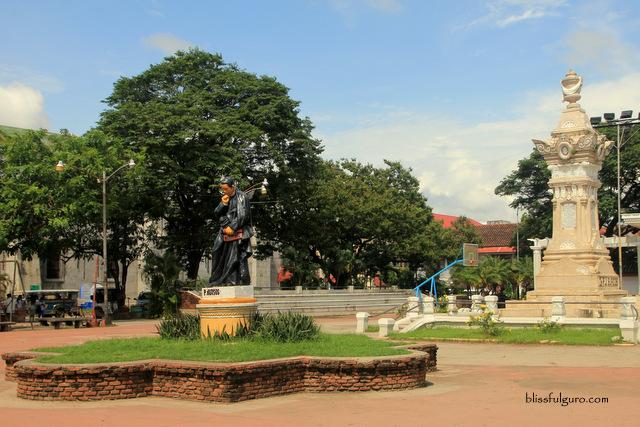 Vigan Ilocos Sur Plaza Burgos