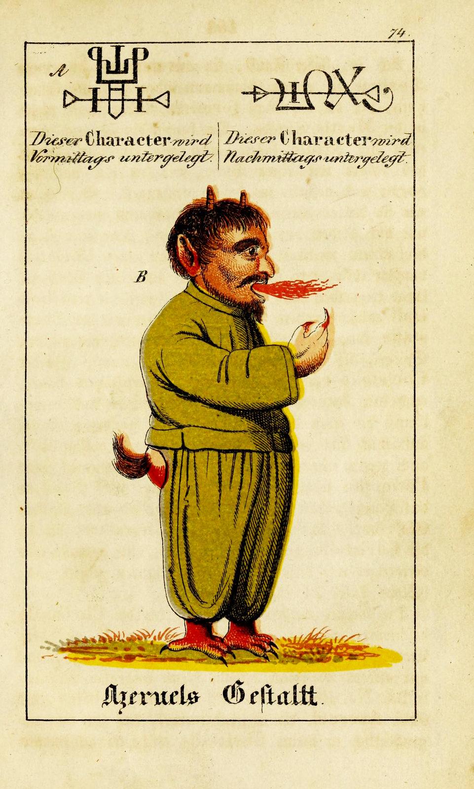 Johann Scheible - Doktor Johannes Faust's Magia naturalis et innaturalis, 1849 (19)