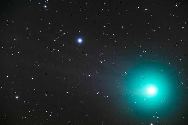 Comet Lovejoy 7min - 7x60sec - ISO6400-1