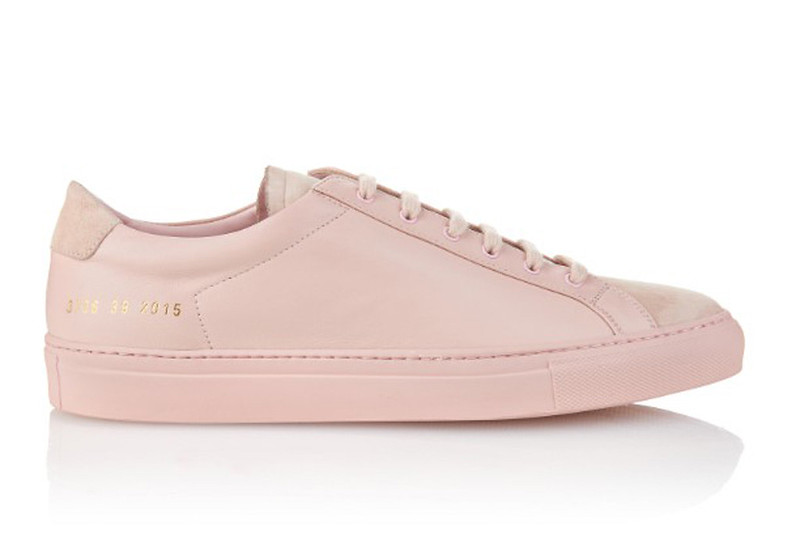 common-projects-pale-pink-sneakers
