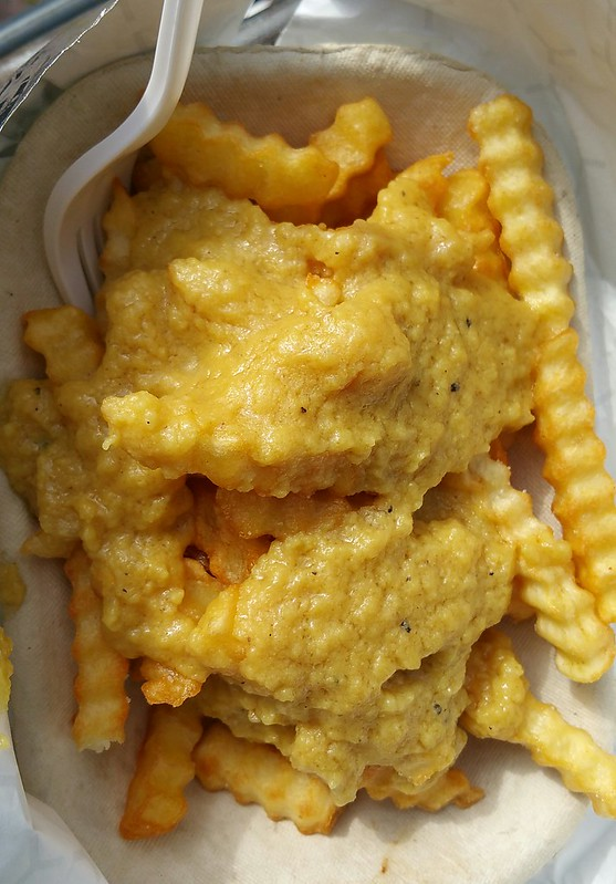2016-May-21 Loving Hut Express - Cheese Fries