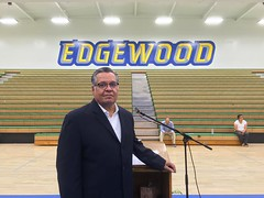 A late Father's Day photo, but important for me to share, because it didn't get lost in the shuffle. #goodtiming Thank you #dad , for being a completely awesome. #edgewoodhighschool #alumnus