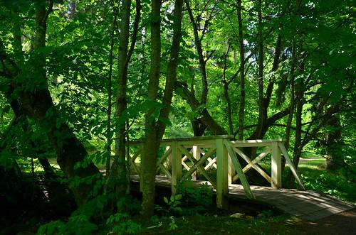 park bridge finland puisto silta huovila kärkölä