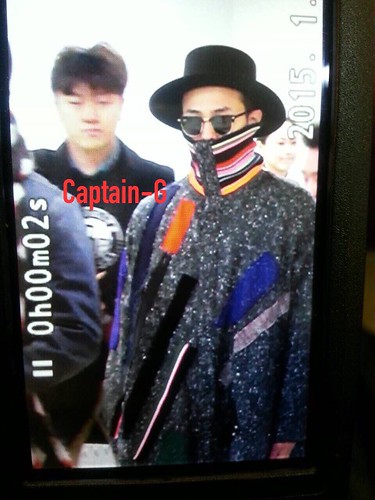 Big Bang - Gimpo Airport - 15jan2015 - G-Dragon - Captain G - 02