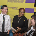 Patrice Lawrence meets some of her fans | © Phil Wilkinson