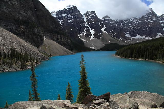 Moraine Lake,Banff National Park,Alberta,Canada