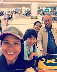 My barkada for the week is here. Yay for home cooked meals. Excited! #sinigang #adobo #arrozcaldo #momanddad