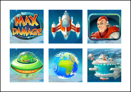 free Max Damage slot game symbols