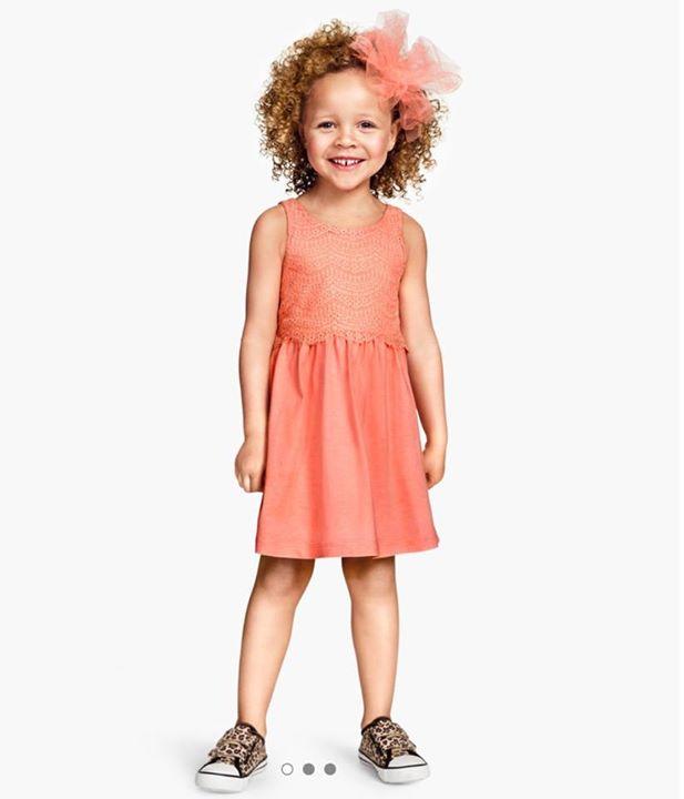 Đầm H&M, size 1-8T, Cambodia xuất xịn