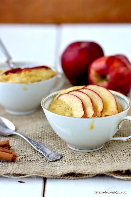mug cake mela e cannella3