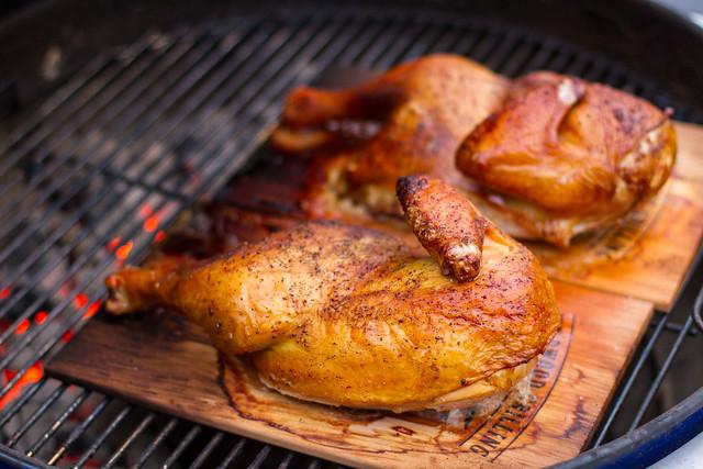 Planked Chicken