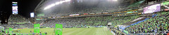 Sounders FC vs LA Galaxy Western Conference Final 11.30.14 panorama